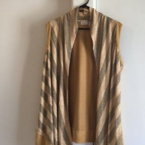 LOGO long layering vest